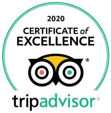 certificate of excellence van tripadvisor