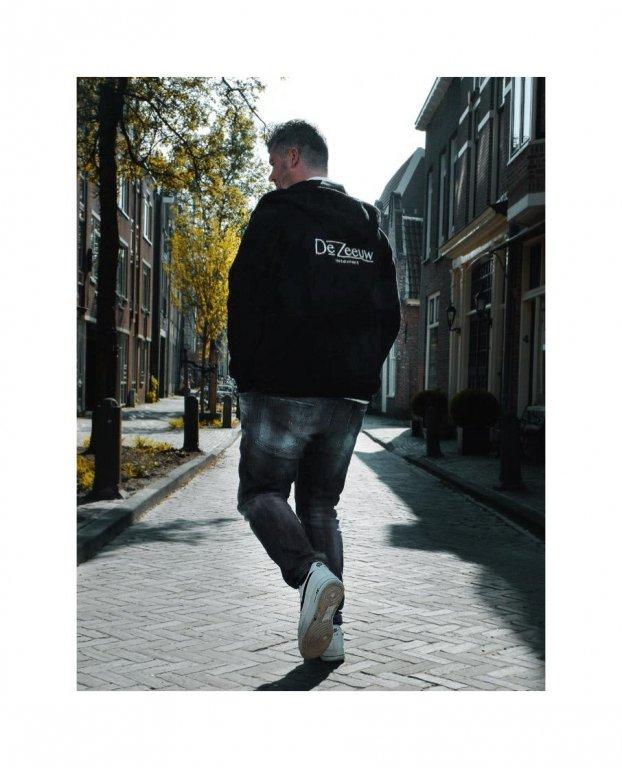 Zip hoodie mannen