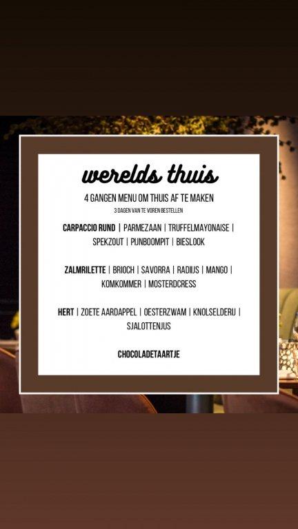 thuis menu